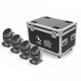 Flash 4x LED Moving Head...
