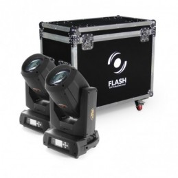 Flash 2x moving head BEAM...
