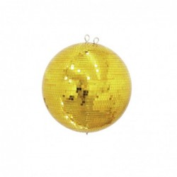 Mirror ball 40cm gold