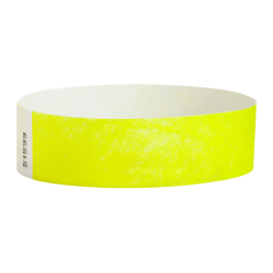 Control Wristbands Neon Yellow