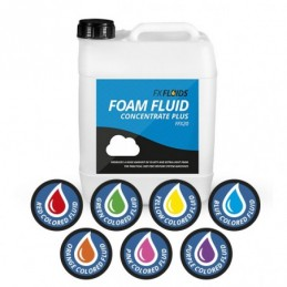 COLORED FOAM FLUID...