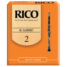 Rico Clarinet Reeds 2/0
