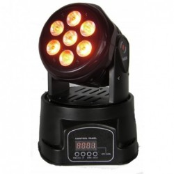 FLASH LED MH WASH 7x10W...