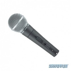 SHURE SM58SE DYNAMIC MICROPHONE with ON/OFF switch