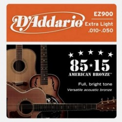 Daddario EZ900 Super Light 10-50 Bronze 85/15