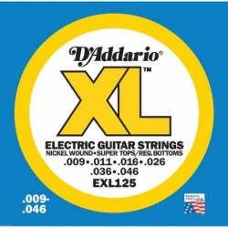 Daddario EXL125 Super Light...