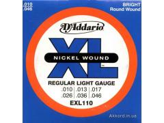 Daddario EXL110 Regular Light 10-46