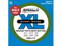 Daddario EXL117 Medium/Heavy Bottom (011-056)