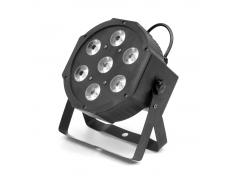 FLASH LED PAR 56 7x10W 4in1 RGBW IN/OUT