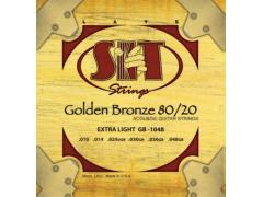 S.I.T. Strings Co Extra Light GB-1048 Acoustic Guitar,Golden Bronze 80/21
