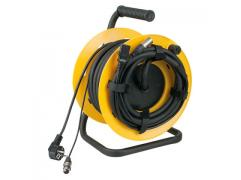 DAP-Audio Cabledrum with 15m audio Power/Signal cable