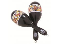 TOCA SHAKER PAINTED WOOD MARACAS