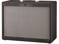 Fender HOT ROD DELUXE 112 ENCLOSURE Black and Silver cabinet