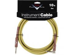 FENDER CUSTOM SHOP CABLES (STRAIGHT-RIGHT ANGLE) 3m