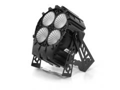 FLASH PROFESSIONAL LED PAR 64 4x30W 4w1 COB RGBW SHORT - 4 sections Mk2