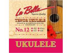 La Bella Acoustic Folk string set tenor ukulele L-15
