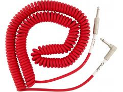 Fender ORIGINAL SERIES COIL CABLE Fiesta Red 9M