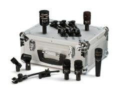 Audix DP5A five microphones set with case