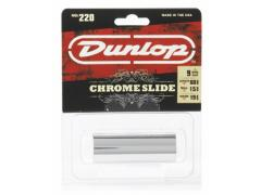 DUNLOP Chromed Steel Slide 220 Medium
